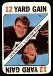 1971 Topps Game #1  Dick Butkus  Front Thumbnail