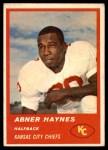 1963 Fleer #48  Abner Haynes  Front Thumbnail