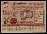 1958 Topps #97 WN Larry Jackson  Back Thumbnail