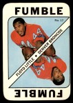 1971 Topps Game #17  Floyd Little  Front Thumbnail