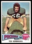 1975 Topps #315  Ted Hendricks  Front Thumbnail