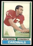 1974 Topps #259  Norm Thompson  Front Thumbnail