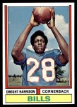 1974 Topps #399  Dwight Harrison  Front Thumbnail