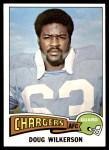 1975 Topps #44  Doug Wilkerson  Front Thumbnail