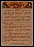 1974 Topps  Checklist   Green Bay Packers Team Back Thumbnail