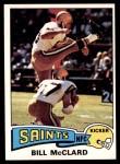 1975 Topps #382  Bill McClard  Front Thumbnail