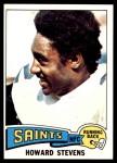 1975 Topps #434  Howard Stevens  Front Thumbnail