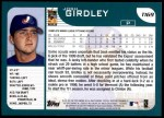 2001 Topps Traded #169 T Josh Girdley  Back Thumbnail