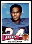 1975 Topps #142  Jim Braxton  Front Thumbnail