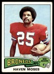 1975 Topps #17  Haven Moses  Front Thumbnail