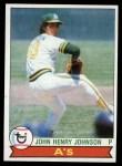 1979 Topps #681  John Henry Johnson  Front Thumbnail