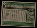 1979 Topps #611  Jim Norris  Back Thumbnail