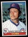 1979 Topps #579  Greg Gross  Front Thumbnail