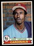 1979 Topps #350  Garry Templeton  Front Thumbnail