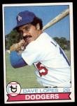 1979 Topps #290  Dave Lopes  Front Thumbnail
