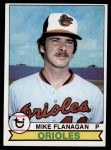 1979 Topps #160  Mike Flanagan  Front Thumbnail
