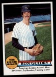1979 Topps #202   -  Ron Guidry Record Breaker Front Thumbnail