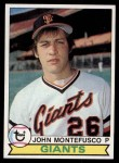 1979 Topps #560  John Montefusco  Front Thumbnail