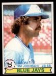 1979 Topps #182  Tim Johnson  Front Thumbnail