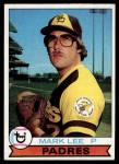 1979 Topps #138  Mark Lee  Front Thumbnail