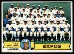 1979 Topps #606   -  Dick Williams  Expos Team Checklist Front Thumbnail