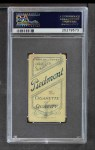 1909 T206  William Otey  Back Thumbnail