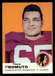 1969 Topps #92  Vince Promuto  Front Thumbnail