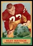 1963 Topps #164  Riley Mattson  Front Thumbnail