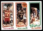 1980 Topps   -  Foots Walker / Mickey Johnson / Bill Robinzine 60 / 113 / 130 Front Thumbnail