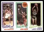 1980 Topps   -  Bob Dandridge / John Drew / Larry Kenon 246 / 19 / 209 Front Thumbnail