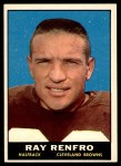 1961 Topps #69  Ray Renfro  Front Thumbnail