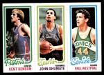 1980 Topps   -  Kent Benson / John Shumate / Paul Westphal 84 / 212 / 229 Front Thumbnail