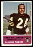 1962 Fleer #74  Fred Williamson  Front Thumbnail