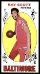 1969 Topps #69  Ray Scott  Front Thumbnail