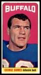 1965 Topps #39  George Saimes  Front Thumbnail