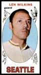 1969 Topps #44  Lenny Wilkens  Front Thumbnail