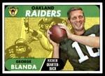 1968 Topps #142  George Blanda  Front Thumbnail