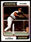 1974 Topps #522  J.R. Richard  Front Thumbnail