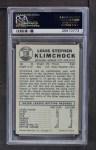 1960 Leaf #116  Lou Klimchock  Back Thumbnail