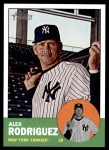 2012 Topps Heritage #361  Alex Rodriguez  Front Thumbnail