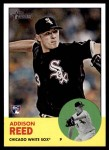2012 Topps Heritage #223  Addison Reed  Front Thumbnail