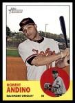 2012 Topps Heritage #205  Robert Andino  Front Thumbnail
