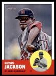 2012 Topps Heritage #22  Edwin Jackson  Front Thumbnail