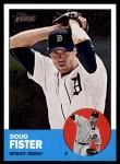 2012 Topps Heritage #84  Doug Fister  Front Thumbnail