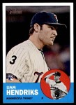 2012 Topps Heritage #89  Liam Hendriks  Front Thumbnail