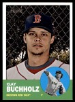 2012 Topps Heritage #251  Clay Buchholz  Front Thumbnail