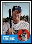 2012 Topps Heritage #252  Aramis Ramirez  Front Thumbnail