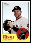 2012 Topps Heritage #160  Mark Buehrle  Front Thumbnail