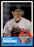2012 Topps Heritage #339  Guillermo Moscoso  Front Thumbnail