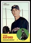 2012 Topps Heritage #255  John Axford  Front Thumbnail